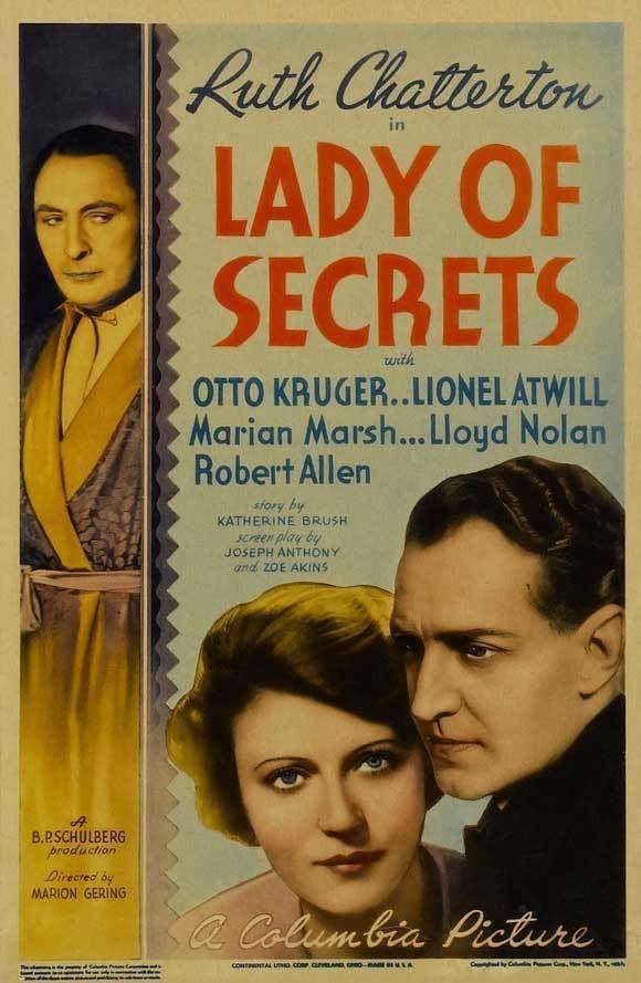 Lady of Secrets imgmoviepostershopcomladyofsecretsmoviepost