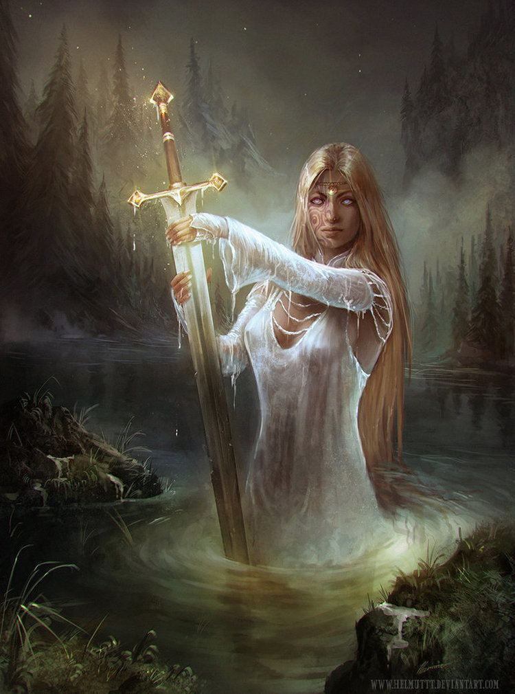 Lady of the Lake Albions Legacy Lady of the lake by HELMUTTT on DeviantArt