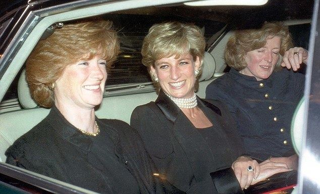Lady Sarah McCorquodale Princess Diana39s niece Celia McCorquodale Alcoholic
