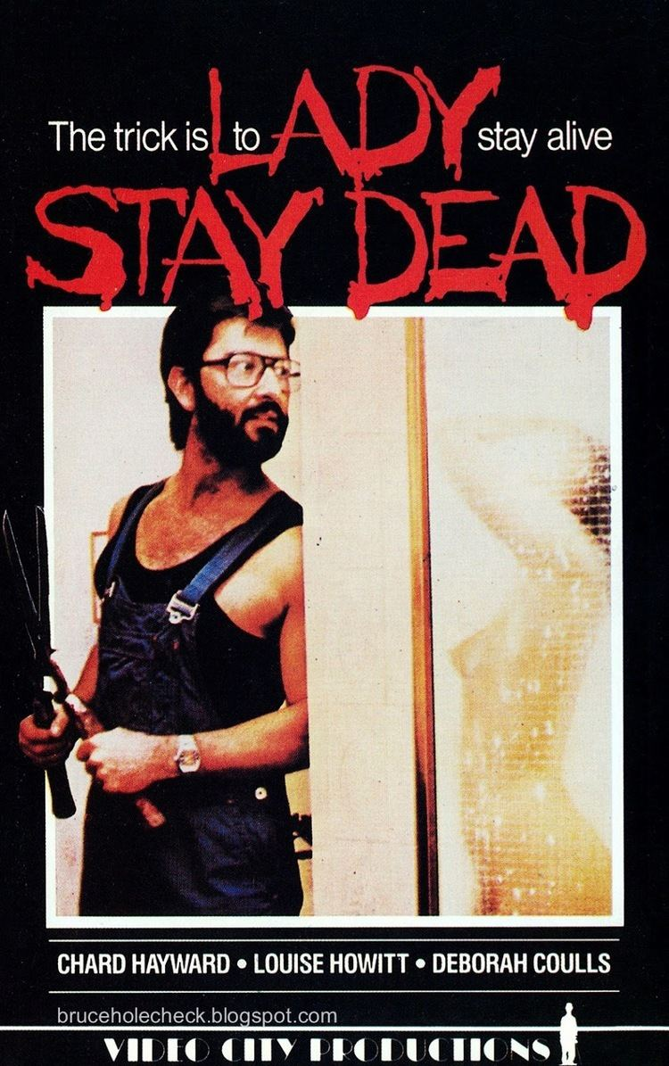 Lady Stay Dead Cinema Arcana The VHS Archives Terry Bourkes LADY STAY DEAD 1981