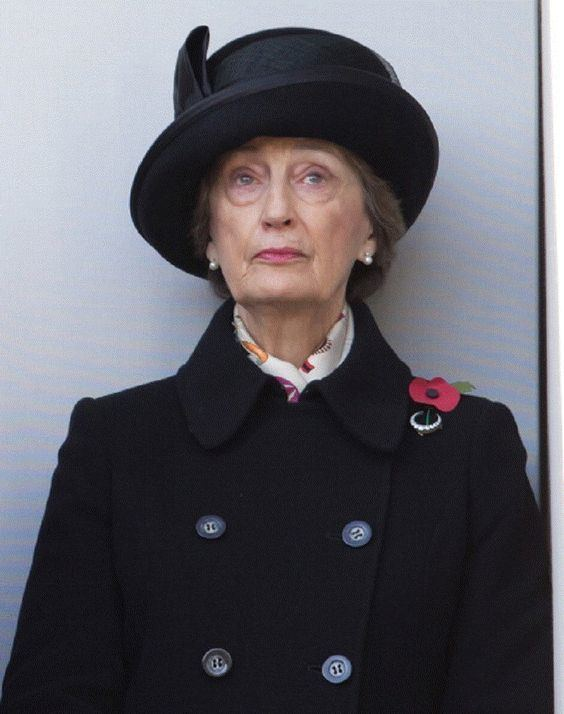 Lady Susan Hussey The UK Observes Remembrance Sunday Lady The o39jays and Sunday news