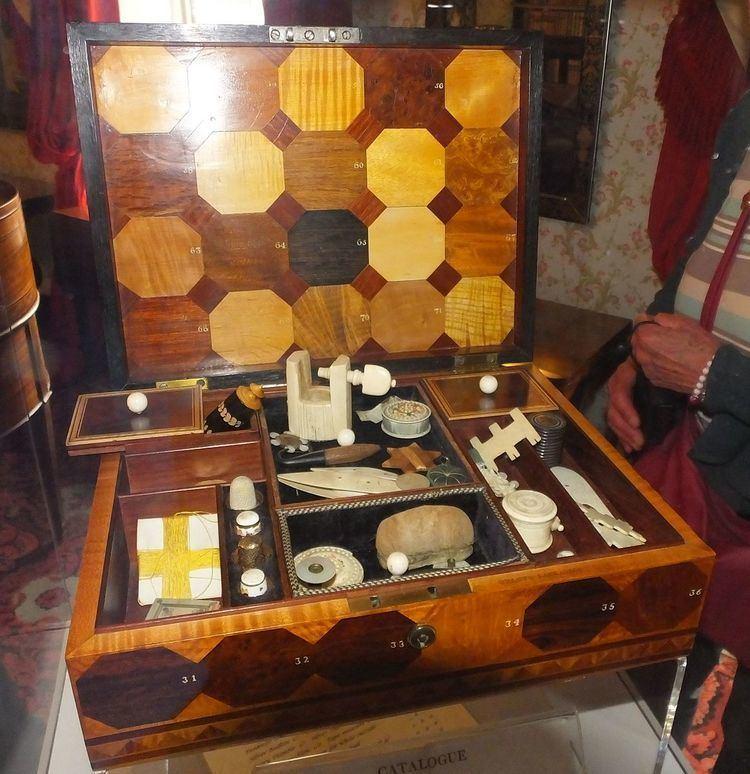 Lady's Workbox, 1808