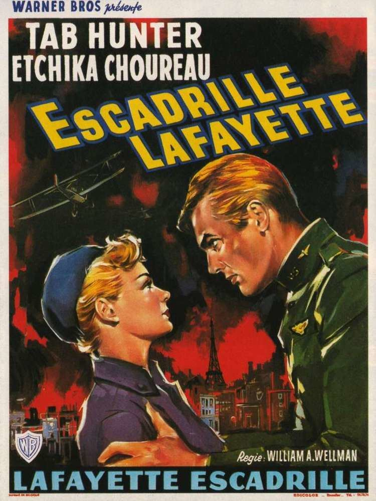 Lafayette Escadrille (film) Lafayette Escadrille 1958 Mikes Take On the Movies