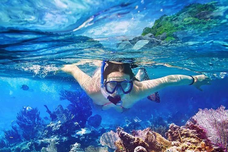 Lagoon Yal Ku Lagoon Snorkeling Travel Yucatan