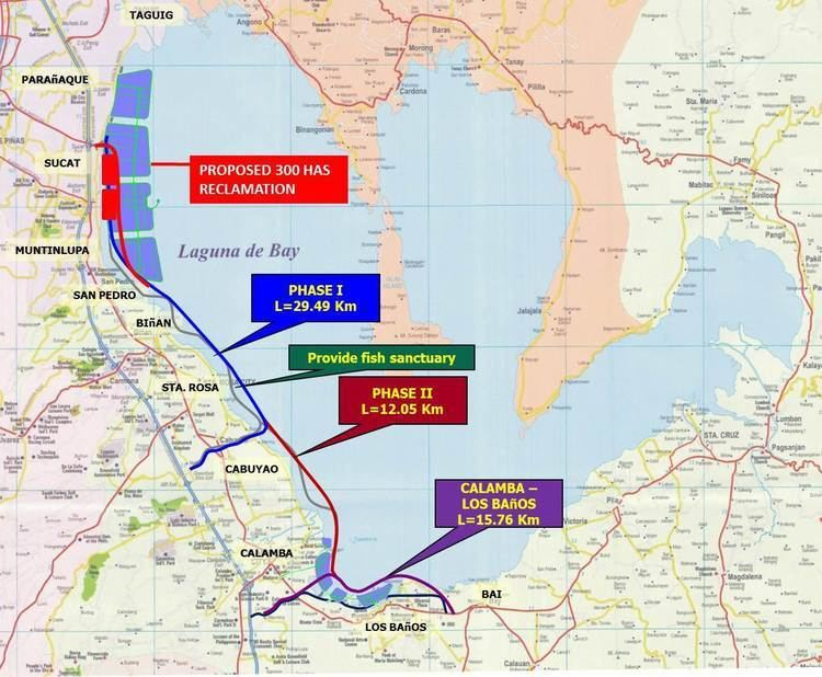 Laguna Lakeshore Expressway Dike P123Billion for Laguna Lakeshore ExpresswayDike Project