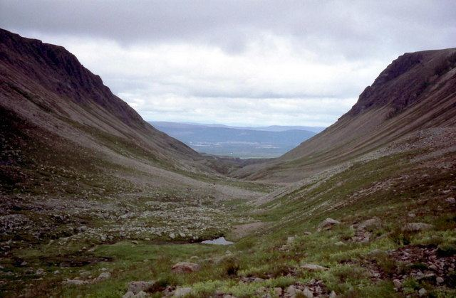 Lairig Ghru Heritage Paths Search for Paths by Map