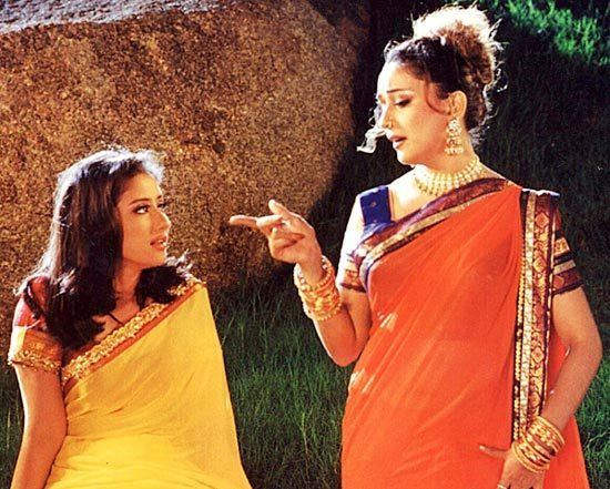 Lajja (film) movie scenes Manisha Koirala and Madhuri Dixit in Lajja