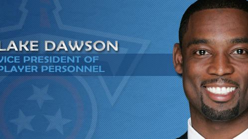Lake Dawson Dolphins request permission to interview Titans executive
