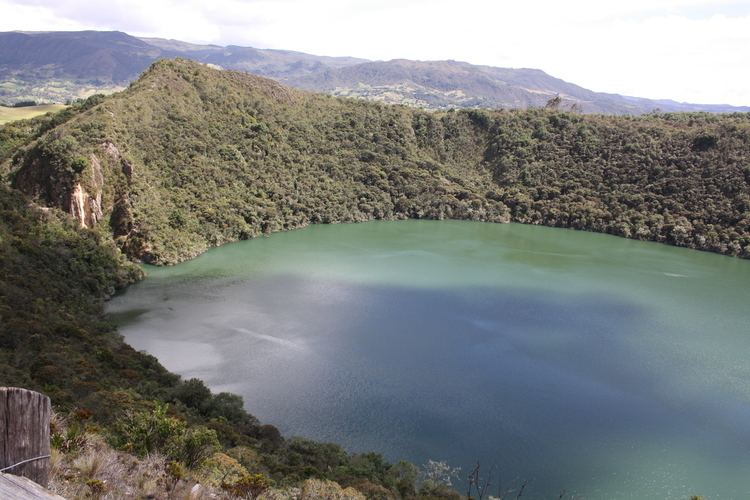 Lake Guatavita seecolombiatravelblogwpcontentuploads201106