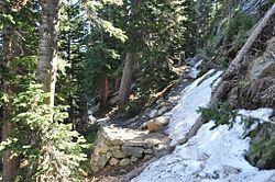 Lake Haiyaha Trail httpsuploadwikimediaorgwikipediacommonsthu