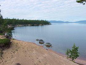 Lake Kolvitskoye httpsuploadwikimediaorgwikipediacommonsthu