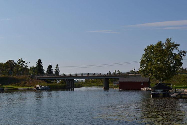 Lake Leelanau Narrows Bridge
