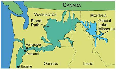 Lake Missoula Digital Geology of Idaho Lake Missoula Floods