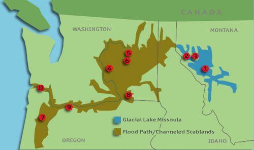 Lake Missoula Glacial Lake Missoula and the Ice Age Floods