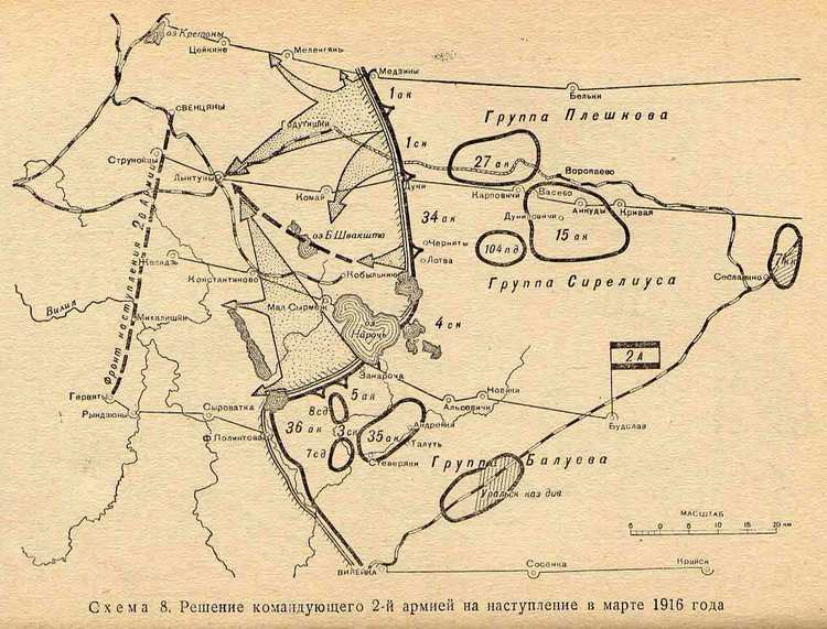 Lake Naroch Offensive Baker39s Dozen WWI Edition Page 65 Armchair General and