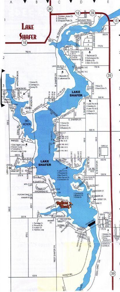 Lake Shafer Lake Shafer