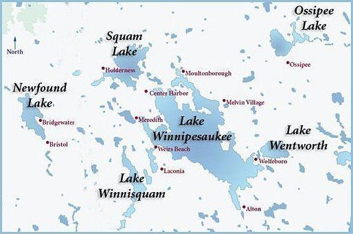Lakes Region (New Hampshire) NH Vacation Rentals Lake Winnipesaukee Real Estate Lakes Region
