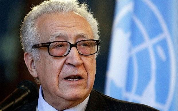 Lakhdar Brahimi Syria 39facing 100000 deaths in next year39 Telegraph