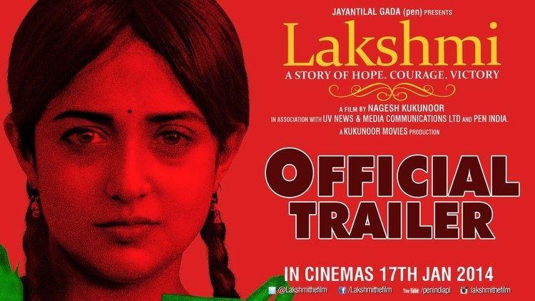 Lakshmi Official Trailer Nagesh Kukunoor Monali Thakur Ram
