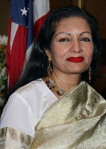 Lakshmi Puri Meet India39s first couple at the United Nations Rediff