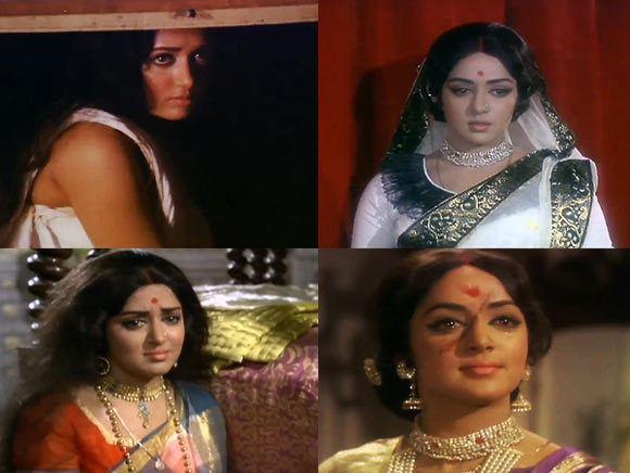 Remembering Hema Malinis unforgettable roar in Lal Patthar Rediff