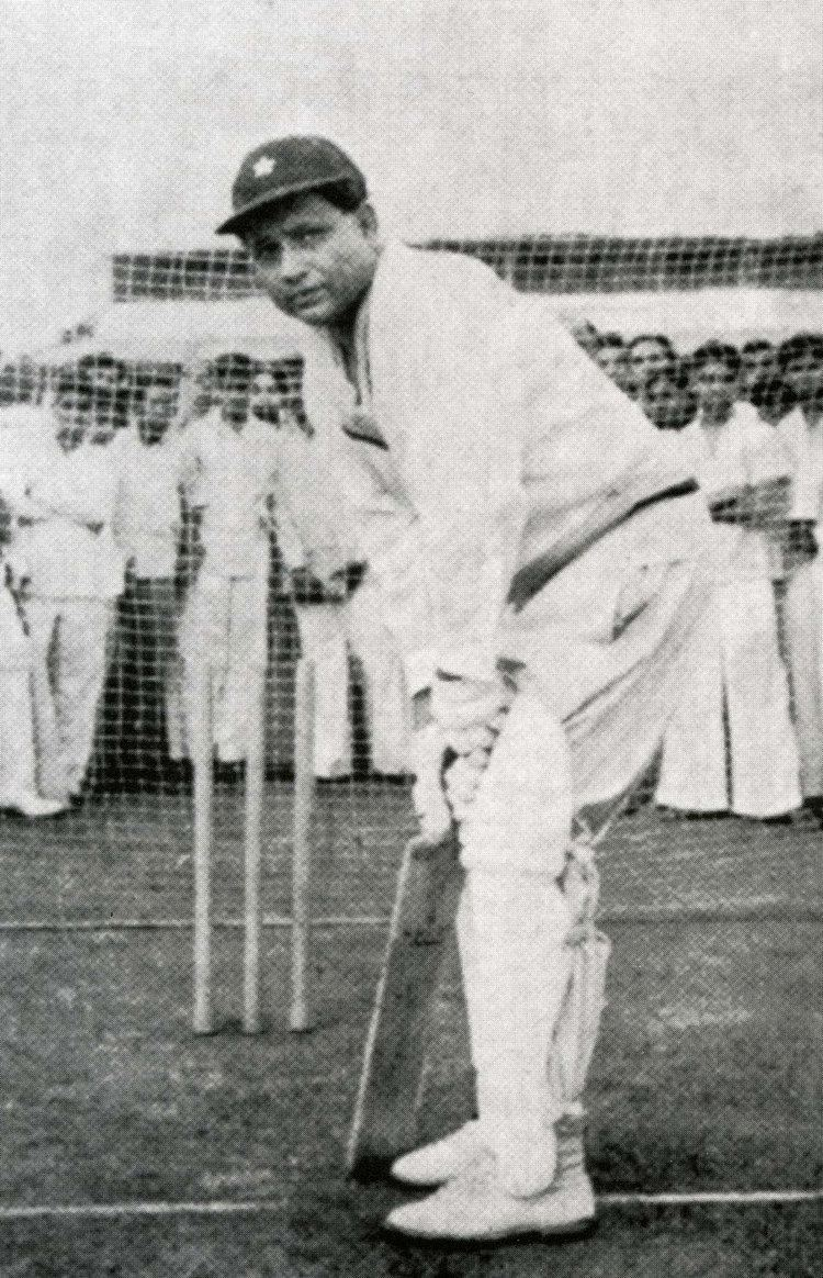 Lala Amarnath Lala Amarnath aged 49 in the nets before leading the Bombay