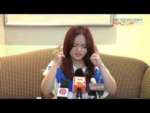 Lala Hsu She39s comfortable with baring Lala Hsu Pt 3