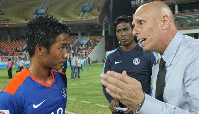 Lallianzuala Chhangte SAFF Cup 2015 Recordbreaking Lallianzuala Chhangte powers India