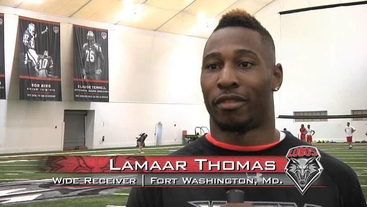 Lamaar Thomas Lamaar Flash Thomas 2013 Lobo Football New Mexico Pro