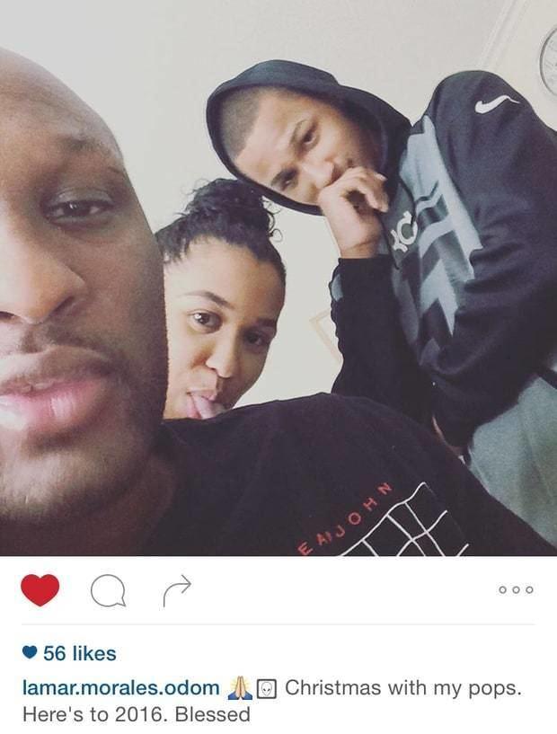 Lamar Odom Lamar Odoms Son Posts First Photo Since Overdose
