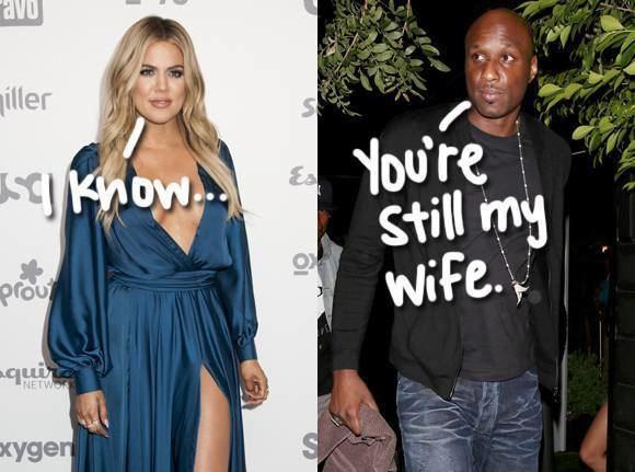 Lamar Odom Lamar Odom Still Calls Khloe Kardashian His Wife Does The
