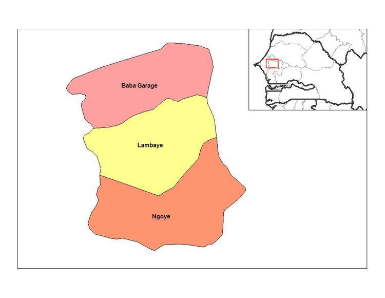 Lambaye Arrondissement