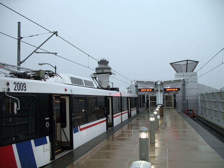 Lambert Airport Terminal 1 station
