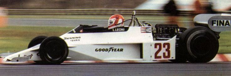 Lamberto Leoni 1978 Interlagos Ensign N177 Lamberto Leoni Formula 1 Legends