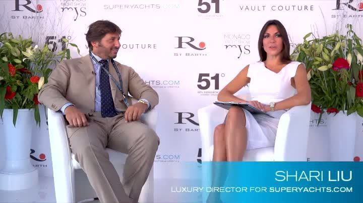 Lamberto Tacoli 2011 MYS CRN Talk Life On Board The New superyachtscom