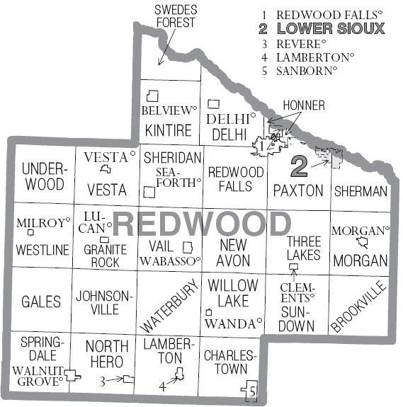 Lamberton Township, Redwood County, Minnesota