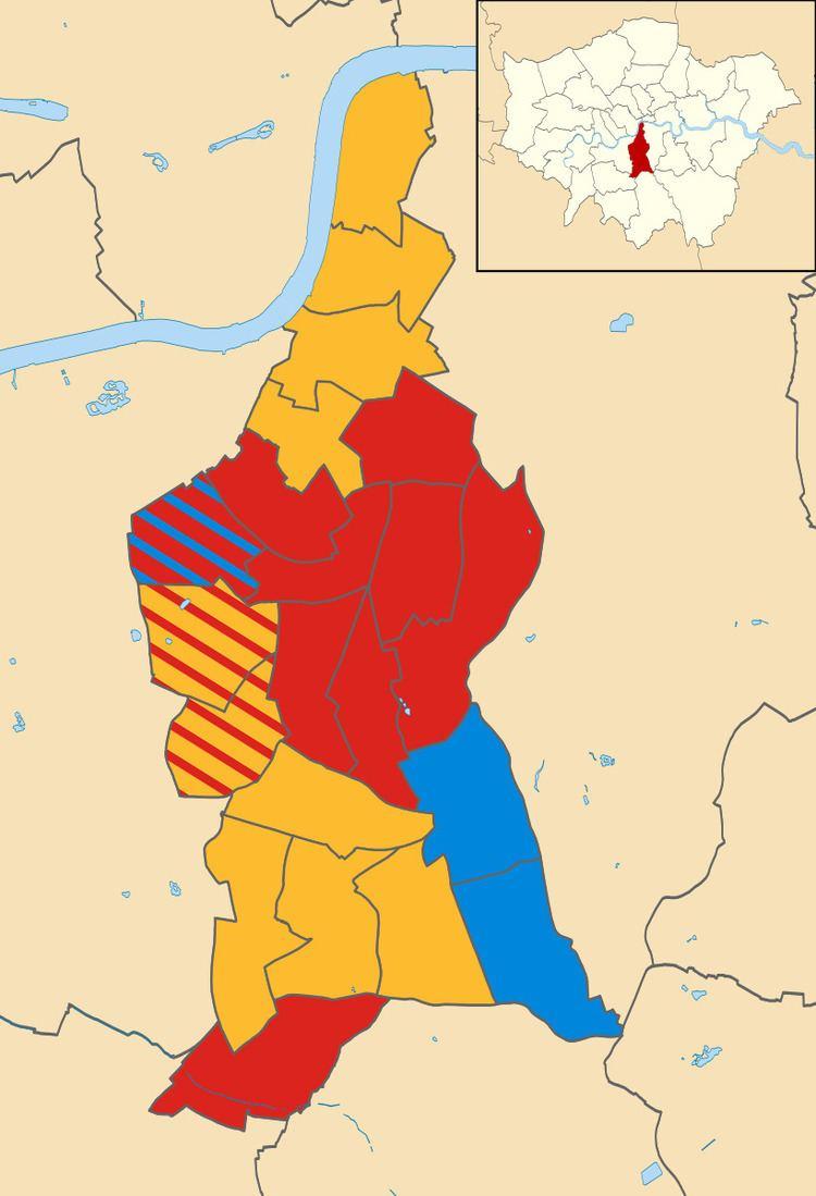 Lambeth London Borough Council election, 2002
