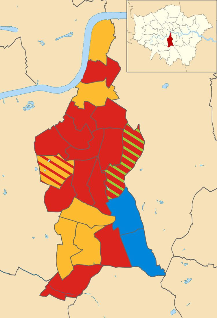 Lambeth London Borough Council election, 2006