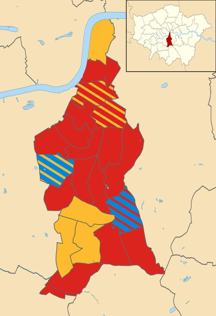 Lambeth London Borough Council election, 2010