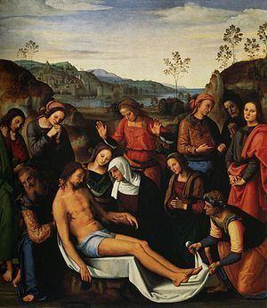 Lamentation over the Dead Christ (Perugino) httpsuploadwikimediaorgwikipediacommonsthu