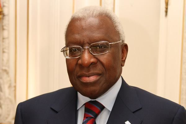 Lamine Diack President iaaforg