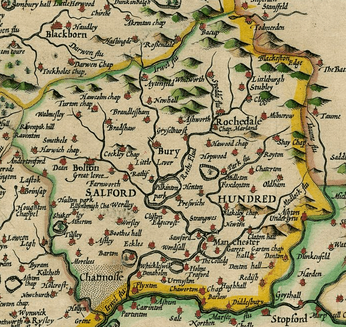 Lancashire in the past, History of Lancashire