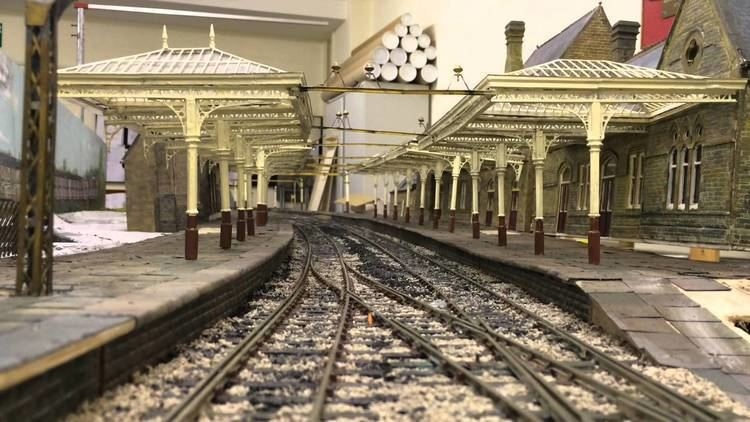 Lancaster Green Ayre railway station Lancaster Green Ayre model railway layout YouTube
