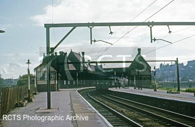 Lancaster Green Ayre railway station RCTS Photographic Archive