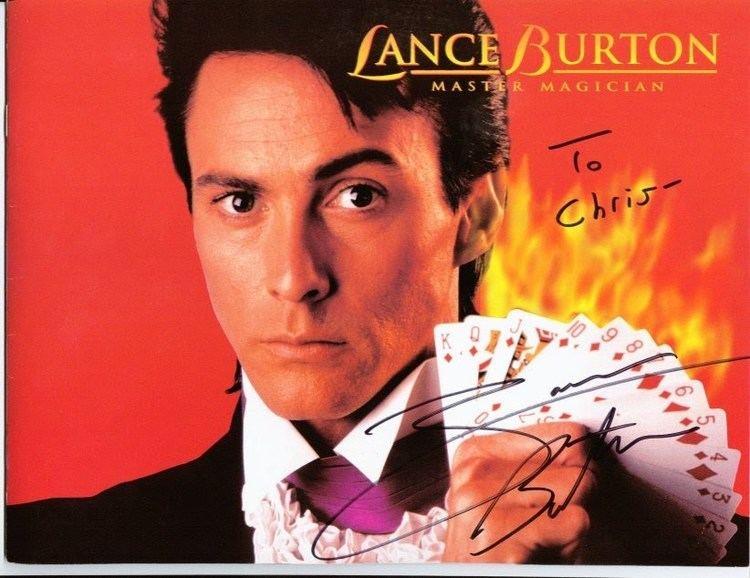 Lance Burton Lance Burton Chris39 Autograph Page