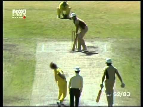 Lance Cairns six sixes Vs Australia 1983 YouTube