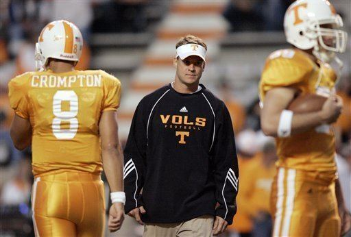Lane Kiffin Tennessee gets NCAA notice of violations Lane Kiffin recruiting