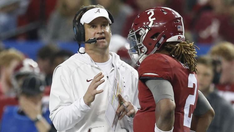 Lane Kiffin Lane Kiffin will not coach Alabama in title game against Clemson