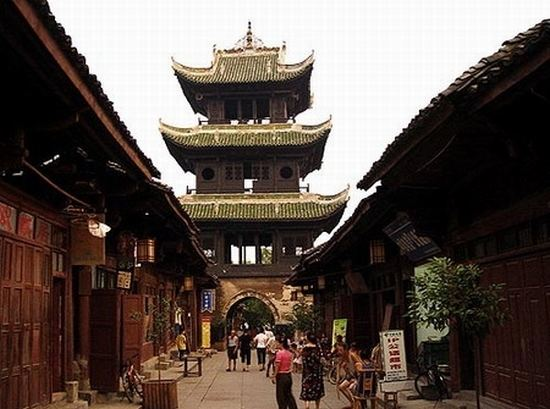 Langzhong in the past, History of Langzhong
