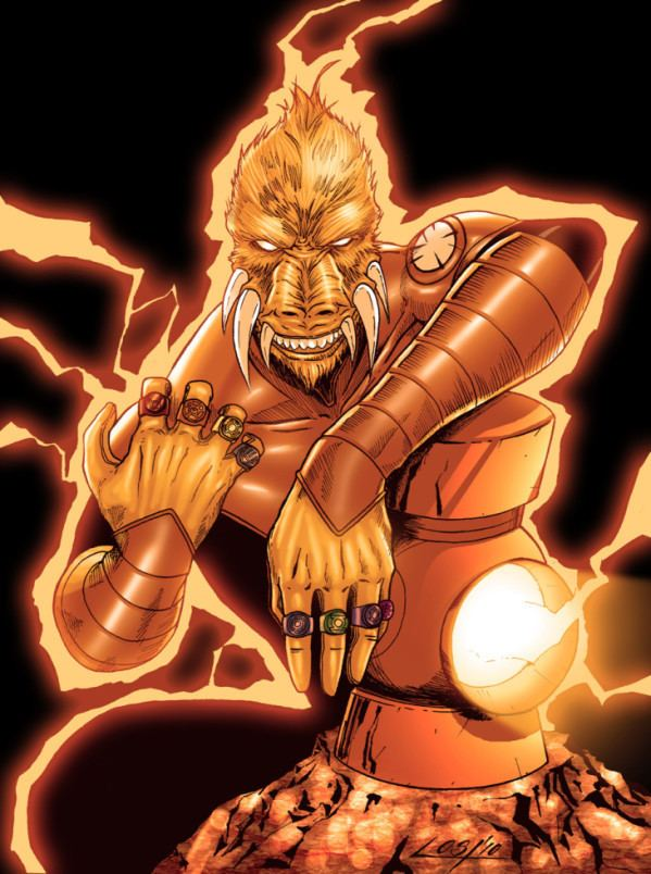Larfleeze - Alchetron, The Free Social Encyclopedia